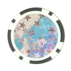 Pastel Stars Poker Chip Card Guard (10 Pack) by Brittlevirginclothing