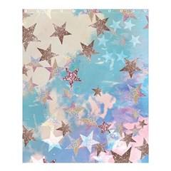 Pastel Stars Shower Curtain 60  X 72  (medium)  by Brittlevirginclothing