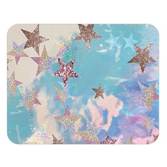 Pastel Stars Double Sided Flano Blanket (large)  by Brittlevirginclothing