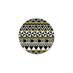 Black Bohemian Golf Ball Marker (4 Pack) by Brittlevirginclothing