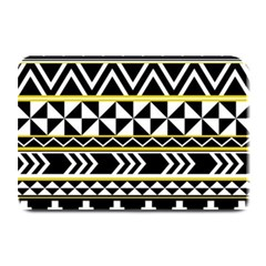 Black bohemian Plate Mats by Brittlevirginclothing
