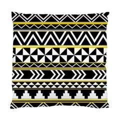 Black Bohemian Standard Cushion Case (one Side) by Brittlevirginclothing