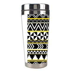 Black Bohemian Stainless Steel Travel Tumblers by Brittlevirginclothing