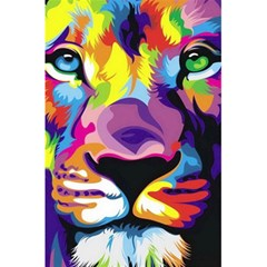Colorful Lion 5 5  X 8 5  Notebooks by Brittlevirginclothing