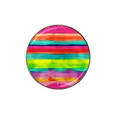 Wet Painted Paper Hat Clip Ball Marker by Brittlevirginclothing