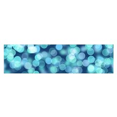 Blue Light Satin Scarf (oblong) by Brittlevirginclothing