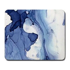 Paint In Water Large Mousepads by Brittlevirginclothing