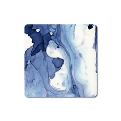 Paint In Water Square Magnet by Brittlevirginclothing