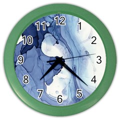 Paint In Water Color Wall Clocks by Brittlevirginclothing