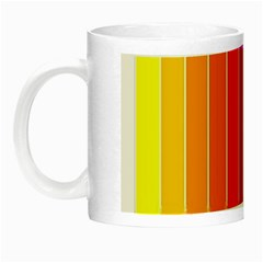 Faded Rainbow  Night Luminous Mugs by Brittlevirginclothing