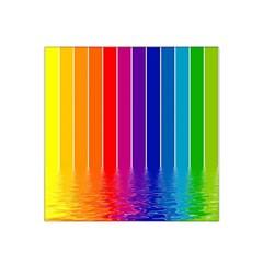Faded Rainbow  Satin Bandana Scarf by Brittlevirginclothing