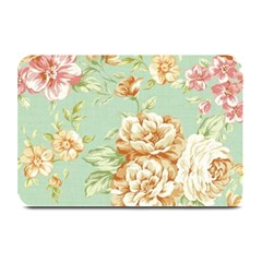 Vintage Pastel Flower Plate Mats by Brittlevirginclothing
