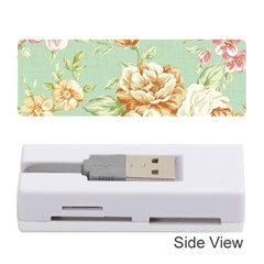 Vintage Pastel Flower Memory Card Reader (stick)  by Brittlevirginclothing