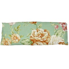 Vintage Pastel Flower Body Pillow Case Dakimakura (two Sides) by Brittlevirginclothing