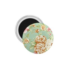 Vintage Pastel Flower 1 75  Magnets by Brittlevirginclothing