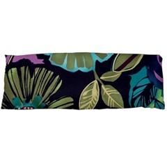 Dark Lila Flower Body Pillow Case Dakimakura (two Sides) by Brittlevirginclothing