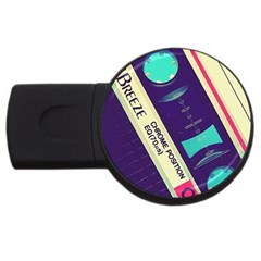 Vintage Casette Usb Flash Drive Round (4 Gb) by Brittlevirginclothing