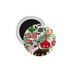 Cute Cartoon 1 75  Magnets by Brittlevirginclothing