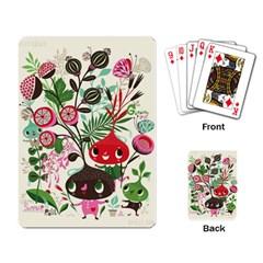 Cute Cartoon Playing Card by Brittlevirginclothing