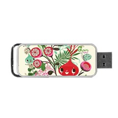 Cute Cartoon Portable Usb Flash (two Sides) by Brittlevirginclothing
