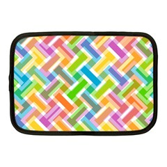 Abstract Pattern Colorful Wallpaper Netbook Case (medium)  by Amaryn4rt