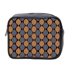 Abstract Seamless Pattern Mini Toiletries Bag 2 Side by Amaryn4rt
