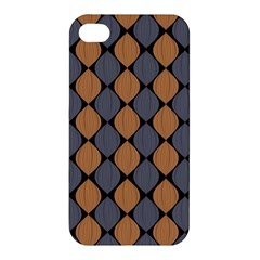 Abstract Seamless Pattern Apple Iphone 4/4s Hardshell Case by Amaryn4rt
