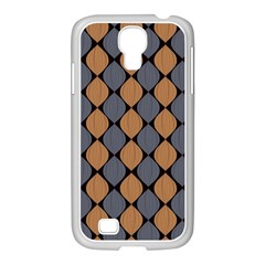 Abstract Seamless Pattern Samsung Galaxy S4 I9500/ I9505 Case (white)