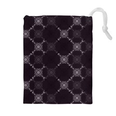 Abstract Seamless Pattern Drawstring Pouches (extra Large) by Amaryn4rt