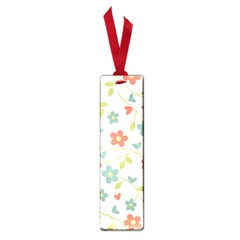 Abstract Vintage Flower Floral Pattern Small Book Marks by Amaryn4rt