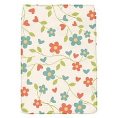 Abstract Vintage Flower Floral Pattern Flap Covers (s)  by Amaryn4rt