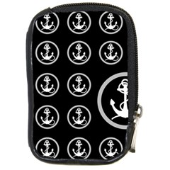 Anchor Pattern Compact Camera Cases by Amaryn4rt