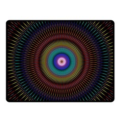 Artskop Kaleidoscope Pattern Ornamen Mantra Fleece Blanket (small) by Amaryn4rt