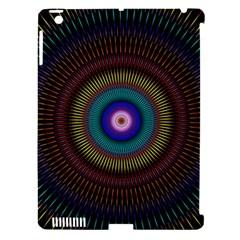 Artskop Kaleidoscope Pattern Ornamen Mantra Apple Ipad 3/4 Hardshell Case (compatible With Smart Cover) by Amaryn4rt