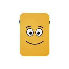 Smiling Face With Open Eyes Apple Ipad Mini Protective Soft Cases by sifis