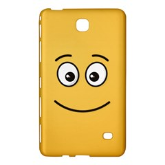 Smiling Face with Open Eyes Samsung Galaxy Tab 4 (8 ) Hardshell Case  by sifis