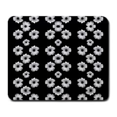Dark Floral Large Mousepads by dflcprints