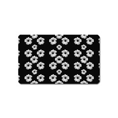 Dark Floral Magnet (name Card) by dflcprints