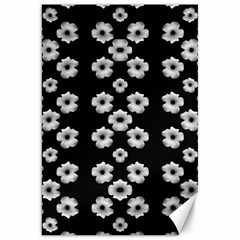 Dark Floral Canvas 20  X 30   by dflcprints