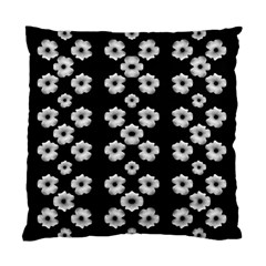 Dark Floral Standard Cushion Case (two Sides) by dflcprints