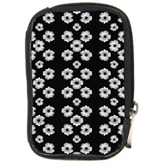 Dark Floral Compact Camera Cases by dflcprints