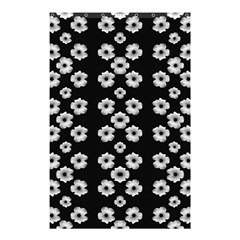 Dark Floral Shower Curtain 48  X 72  (small)  by dflcprints