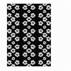 Dark Floral Large Garden Flag (two Sides) by dflcprints