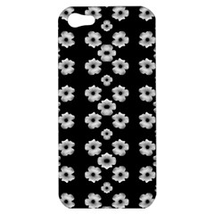 Dark Floral Apple Iphone 5 Hardshell Case by dflcprints