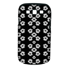 Dark Floral Samsung Galaxy S Iii Classic Hardshell Case (pc+silicone) by dflcprints