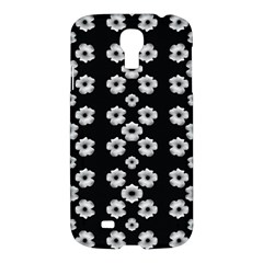 Dark Floral Samsung Galaxy S4 I9500/i9505 Hardshell Case by dflcprints