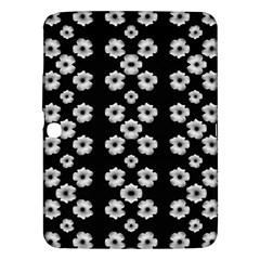 Dark Floral Samsung Galaxy Tab 3 (10 1 ) P5200 Hardshell Case  by dflcprints