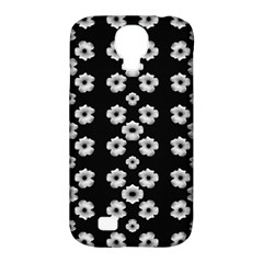 Dark Floral Samsung Galaxy S4 Classic Hardshell Case (pc+silicone) by dflcprints