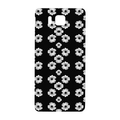 Dark Floral Samsung Galaxy Alpha Hardshell Back Case by dflcprints