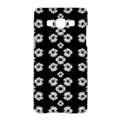 Dark Floral Samsung Galaxy A5 Hardshell Case  by dflcprints